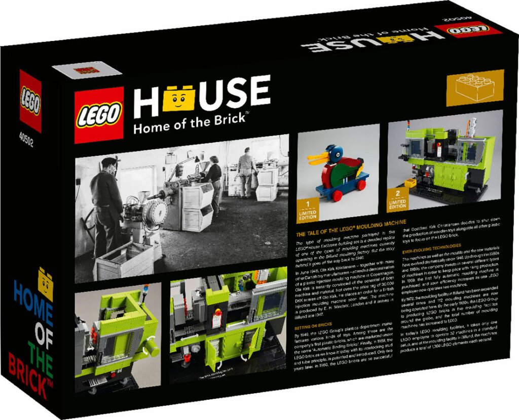 LEGO® 40502 - tył opakowania