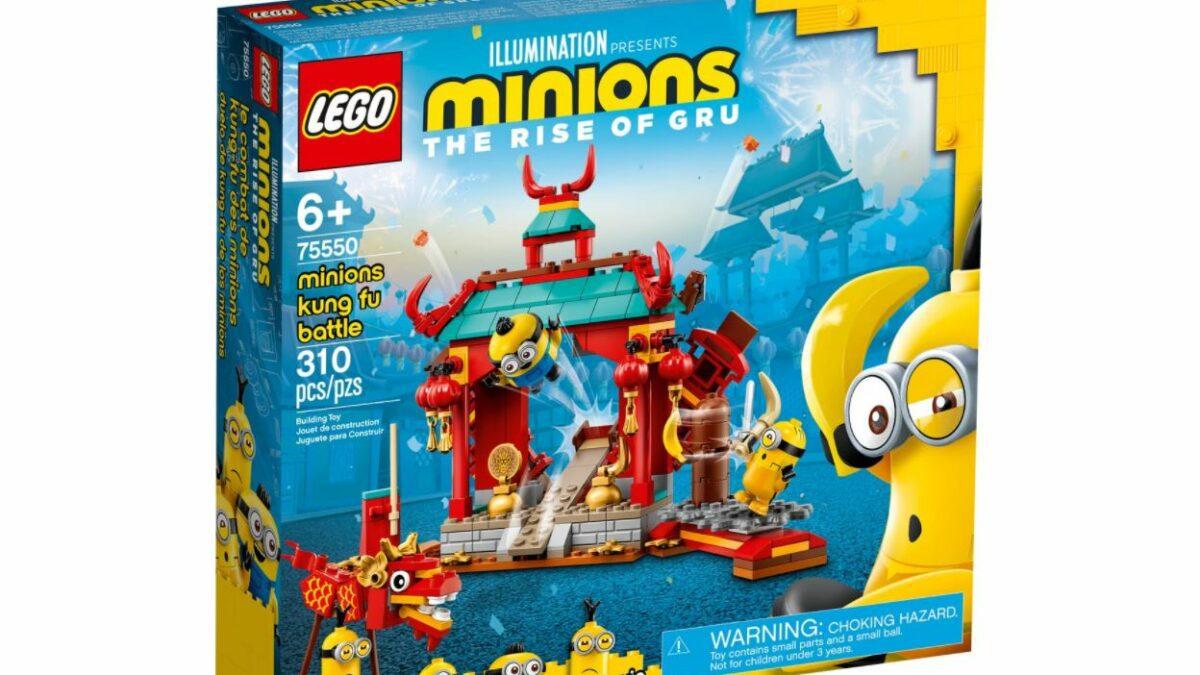 LEGO 75550 - Laboratorium Gru