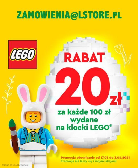 Lego Store - promocja wielkanocna