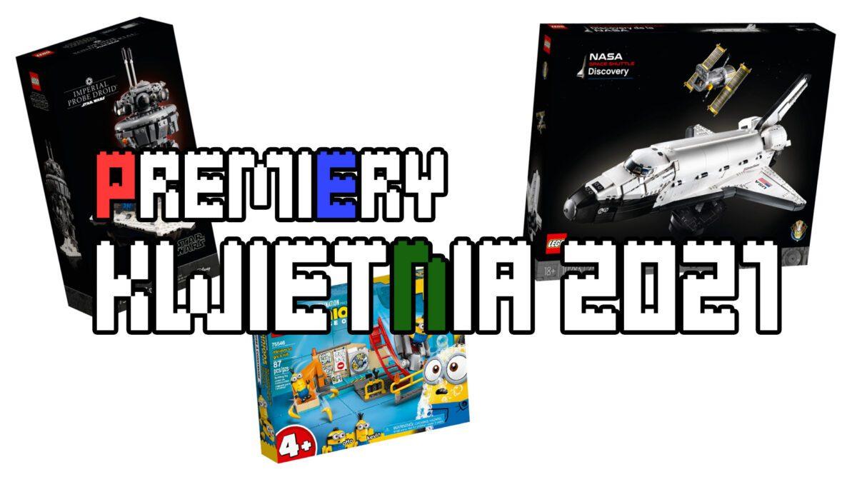 Premiery LEGO - kwiecień 2021