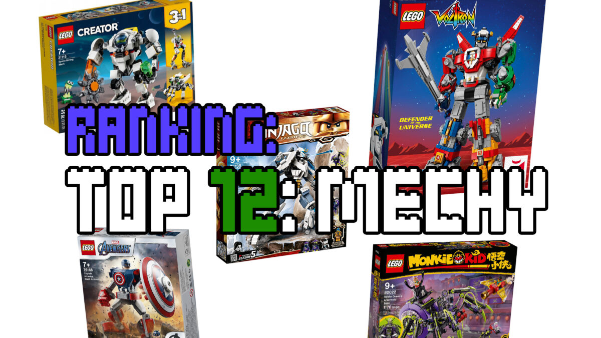 Ranking - TOP12 mechów LEGO