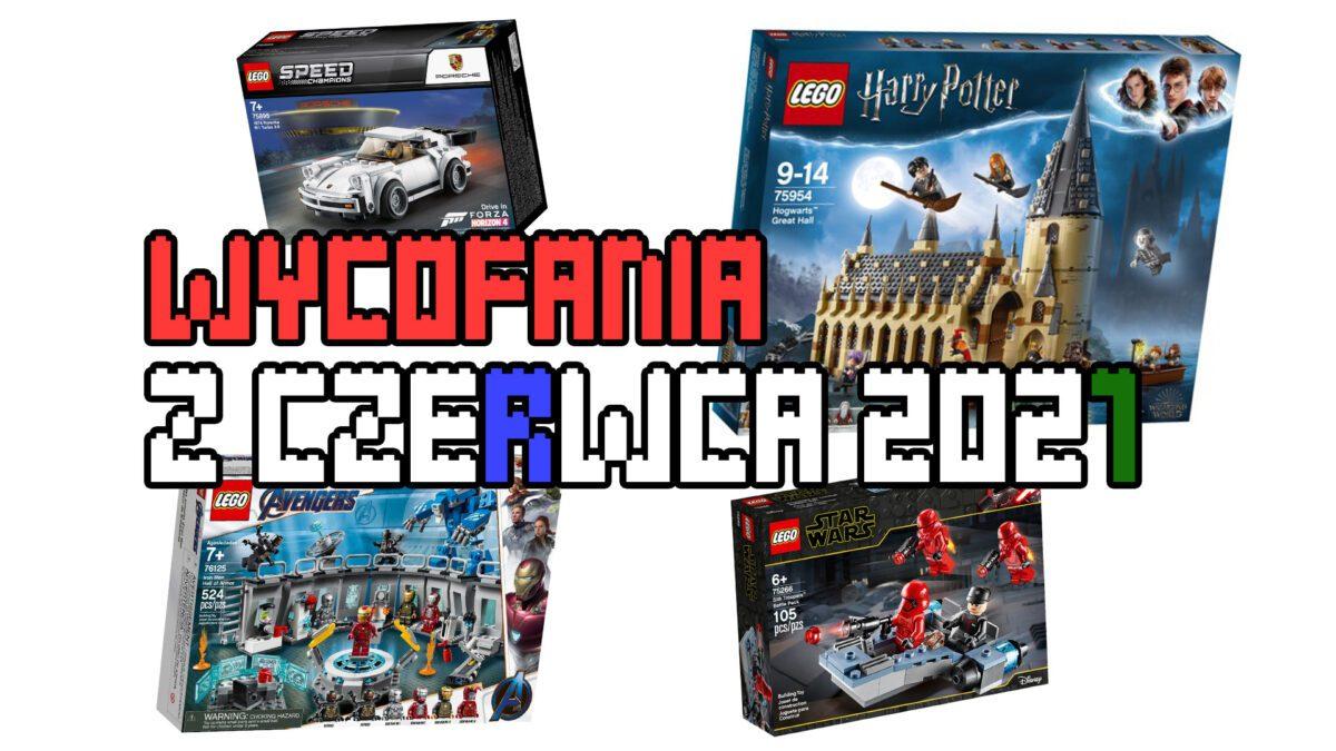 Wycofania LEGO - czerwiec 2021