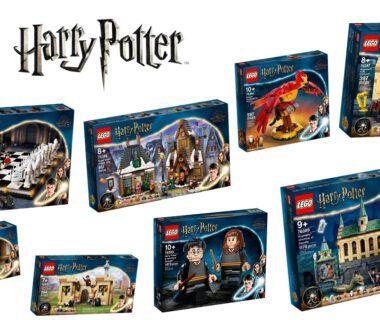 LEGO Harry Potter zestawy 2021 oficjalnie!