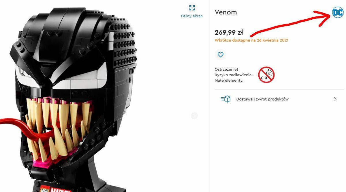 Venom - błąd