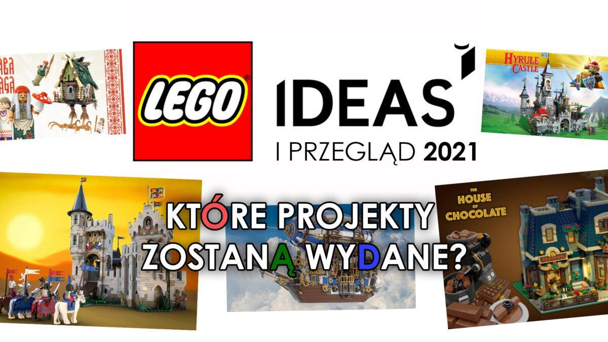 LEGO IDEAS - I przegląd 2021