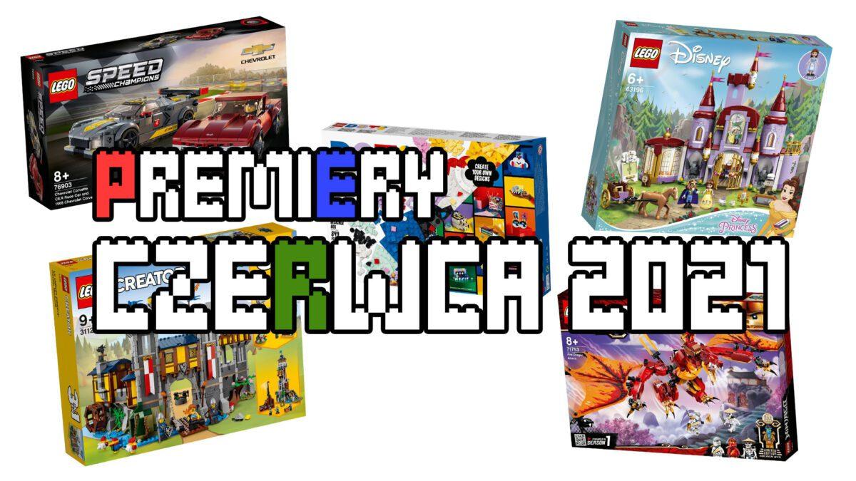 Premiery LEGO - czerwiec 2021