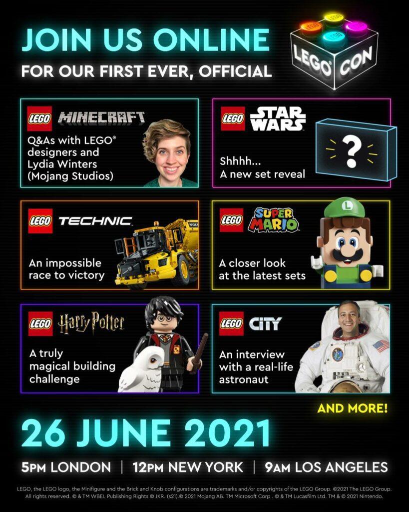 LEGO CON 2021 - zapowiedzi