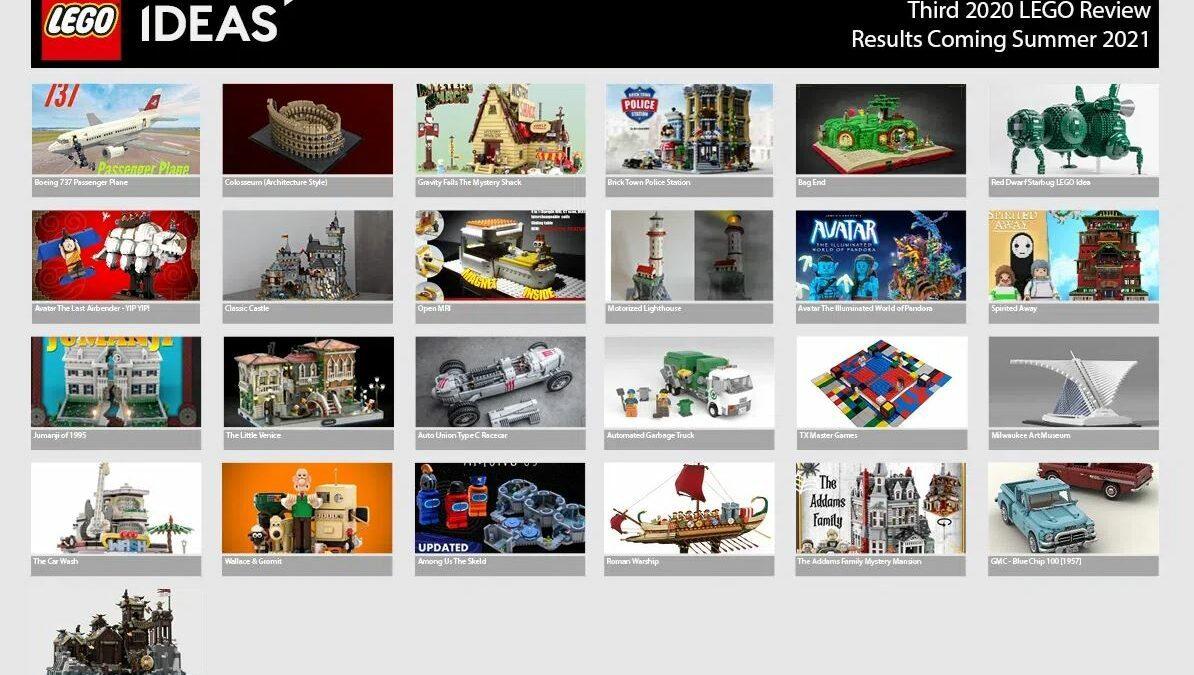 LEGO IDEAS - 3 przeglad 2020