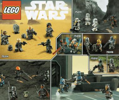 LEGO Star Wars lato 2021 - minifigurki