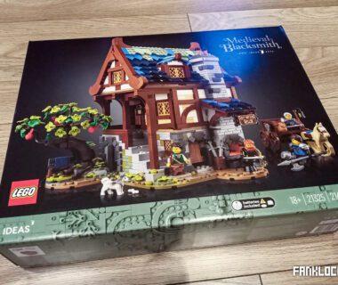 LEGO średniowieczna kuźnia - opakowanie