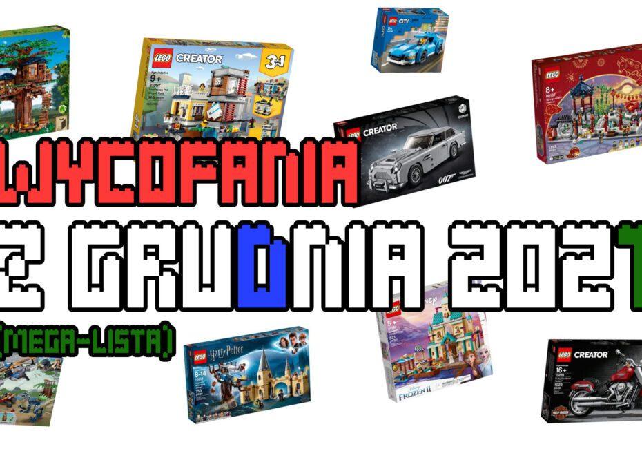 Wycofania LEGO - grudzień 2021