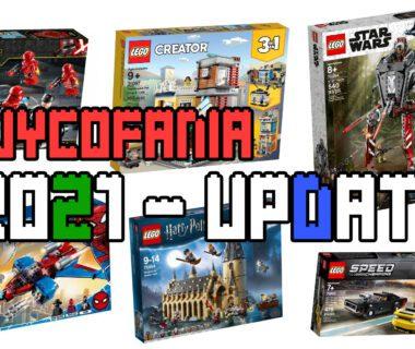 Wycofania letnie LEGO 2021 - updateWycofania letnie LEGO 2021 - update