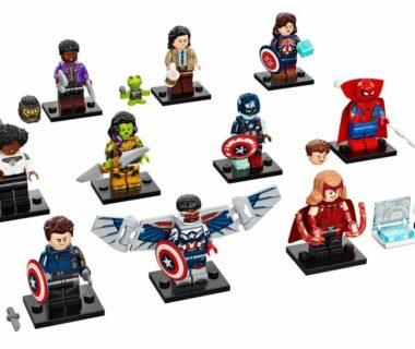LEGO Marvel Minifigures - seria 1