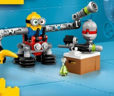 Minionek Bob LEGO