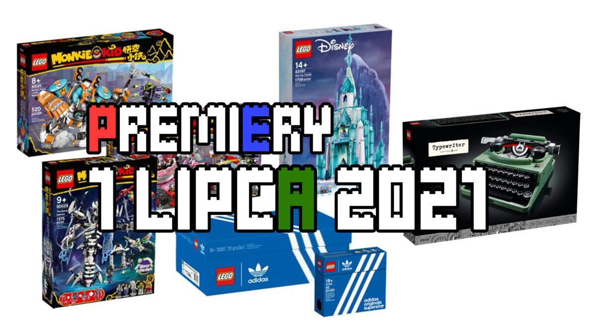 Nowości LEGO - 1 lipiec 2021