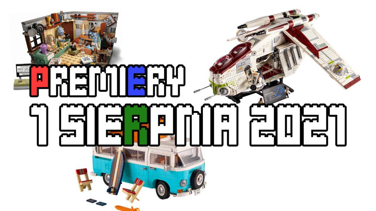 Premiery LEGO - sierpien 2021