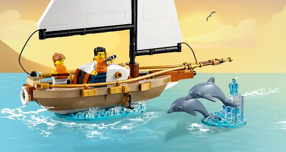 Przygoda z żaglowcem LEGO
